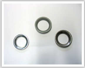 Ball cups as components for rubber metal connections